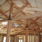 Fiberglass Batt Ceiling Install