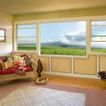 Picture Window With Hung Side Windows
