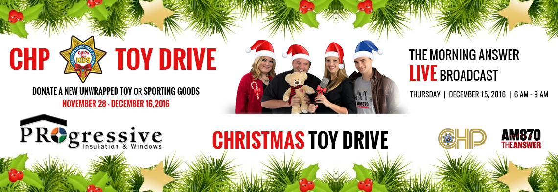 CHP TOY DRIVE